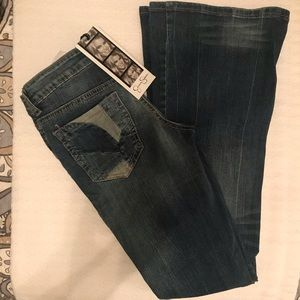 Jessica Simpson flared leg jeans size 25.